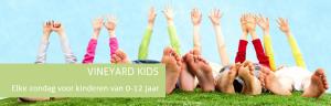Elke zondag voor kinderen van 0-12 jaar