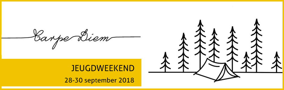 JEUGDWEEKEND 28-30 september 2018